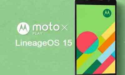 Install Android Oreo on Moto X Play