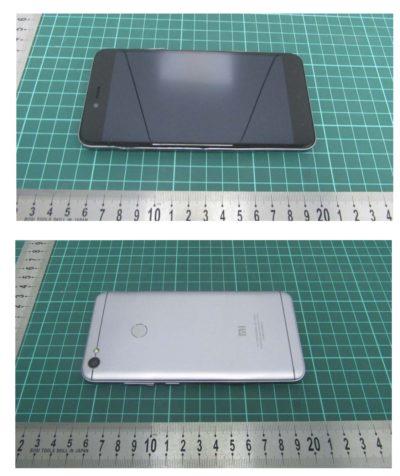 Xiaomi Redmi Note 5A Prime or Plus appeared at FCC 4