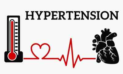 Hypertension is the technical term used for high blood pressure