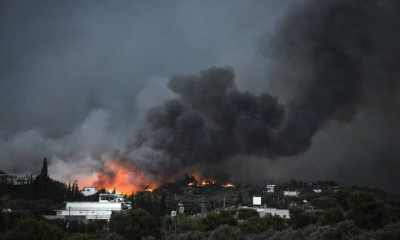 Greece Wildfire