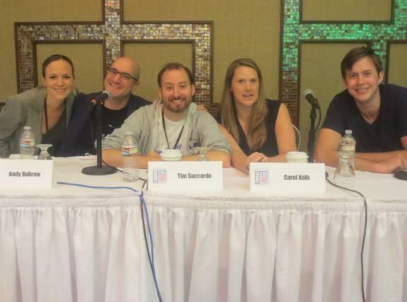 Hilary Winston, Andy Bobrow, Tim Saccardo, Carol Kolb, Matt Roller