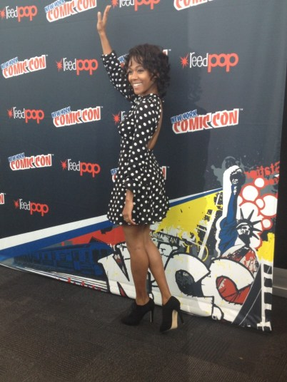 Nicole Beharie (Abbie Mills) looking FIERCE.