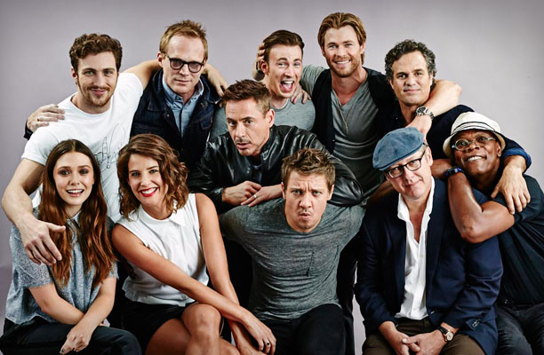 Avengers Group Photo