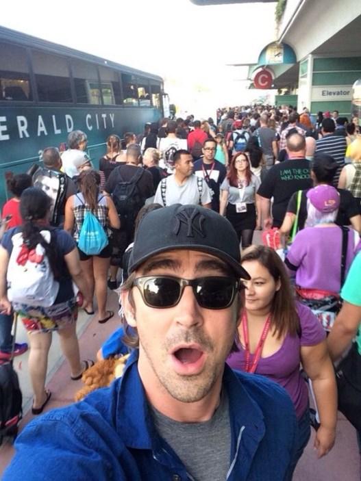 Lee Pace SDCC Selfie