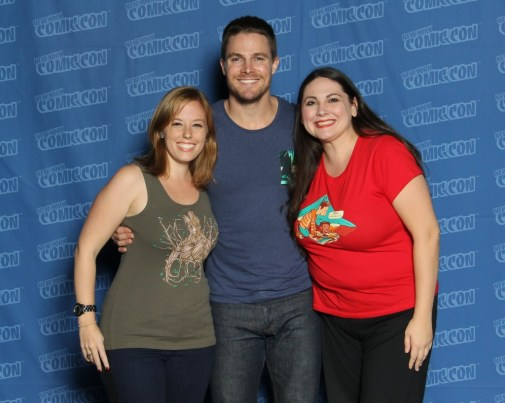 Note Stephen's hand on Sage. Yup.