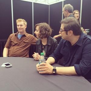 Bobby Tisdale, Kristen Schaal, and Eugene Mirman