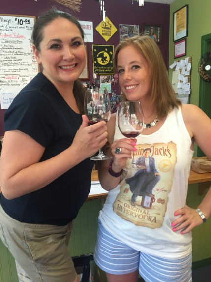 Wine Tasting at Witch Creek!