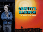 Musicians And Their Favorite Books: Jonathan Ben-Menachem (Whitewash) – Gravity's Rainbow