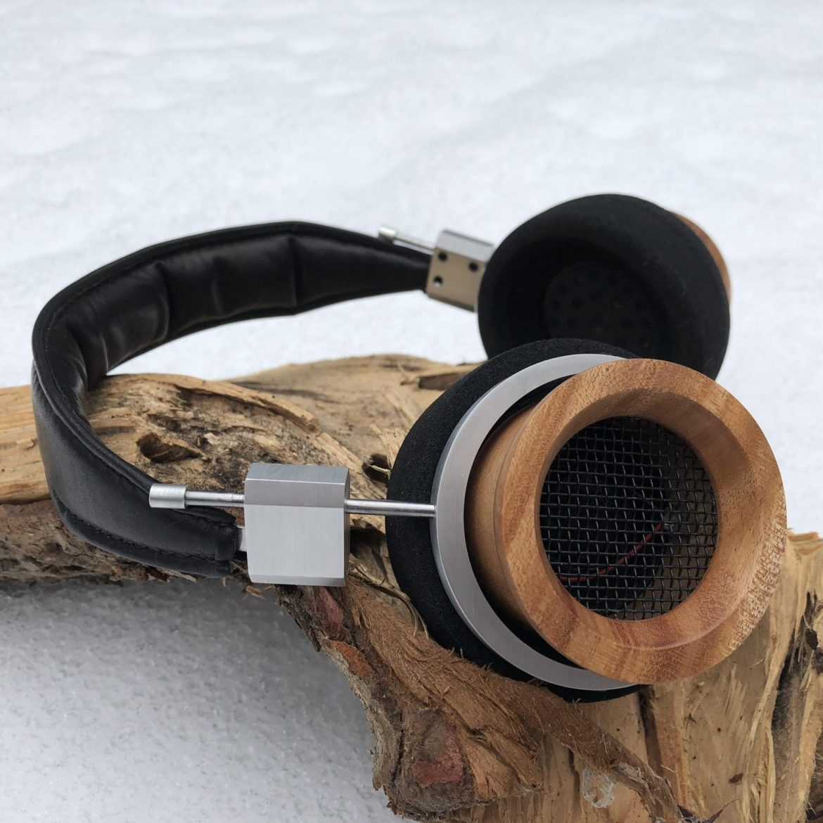 A completed modified Grado build from Shipibo Audio and Symphones