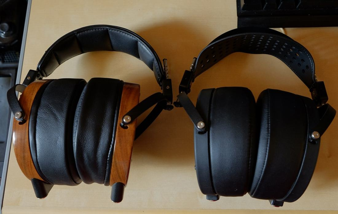 Audeze LCD-2 Side-by-side comparisons