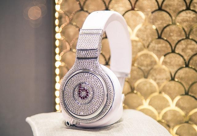 Diamond Beats by Dre Headphones taken byTony Webster