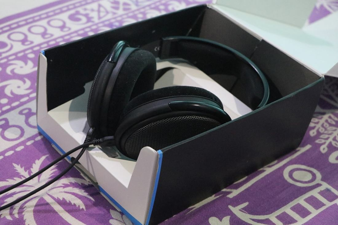 The packaging of the HD 58X Jubilee