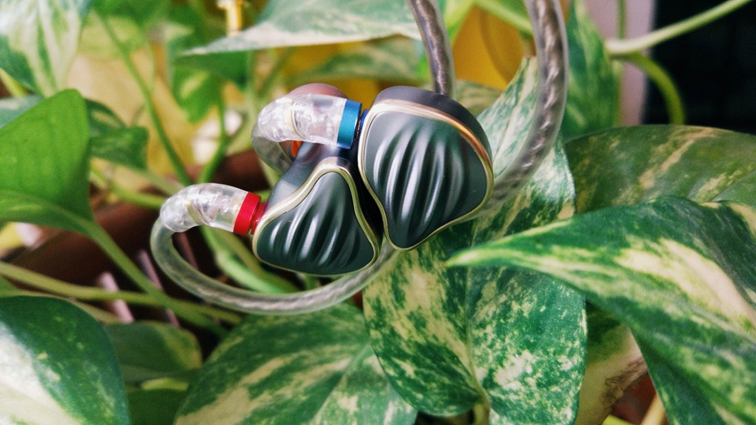 You can tell these IEMs have lush mids.