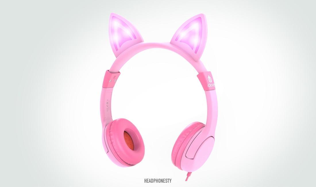 iClever Kids Cat Ear Headphones