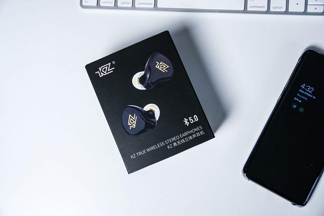 KZ T1 packaging