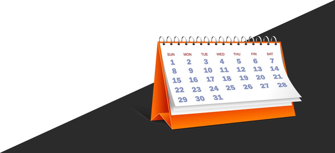 Reclama cu calendare personalizate