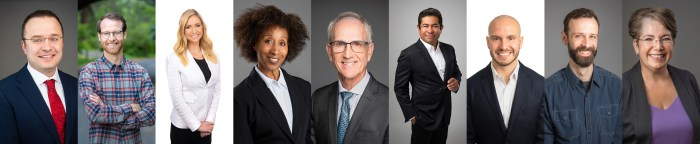A Series of Business Headshots