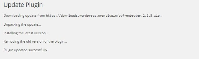 Wordpress-update-plugin-log