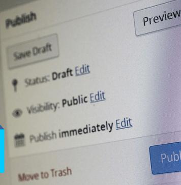 publish post wordpress