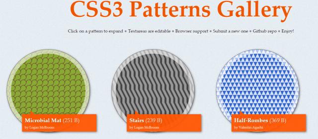 fondos CSS3 para páginas web