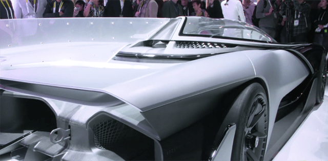 Tecnología en carros inteligentes CES 2016
