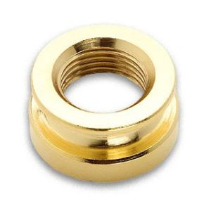 Gold Strap Button
