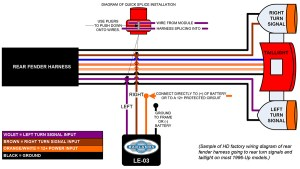Headwinds: Load Equalizer  Wire Schematic