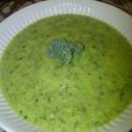 Quick Kale Gazpatcho