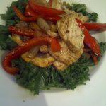 Balsamic Chicken & Pepper Stir-Fry