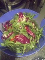 Arugula, Radiccho & Mint Salad