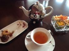 お茶会inスイスホテル大阪(ヒーリングのプチ体験付き)