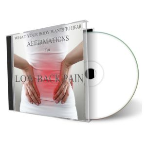What Your Body Wants To Hear Lower Back Pain cd cover