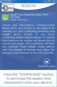 Money healing app image