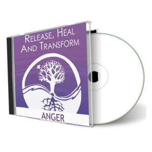 Release Heal & Transform Anger meditations cd cover