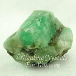 Emerald Stones Emit The Green Ray Energy Of Abundant Love