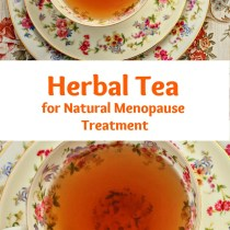 herbal tea for natural menopause treatment