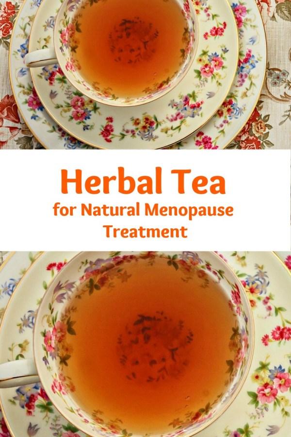 herbal tea for natural menopause treatment