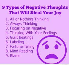 Eliminate Negative Thoughts
