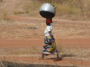Bringing water from the well