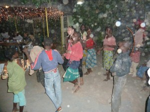 Children dancing with the Ancestors