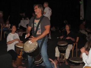Healing Drummer Drumming