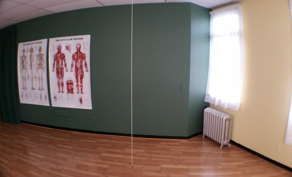Healing Light Yoga and Massage Studio, plumb line, posture assessment, awareness, alignment