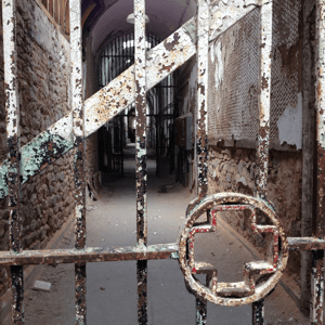 Eastern State Penitentiary_Hospital Cellblock