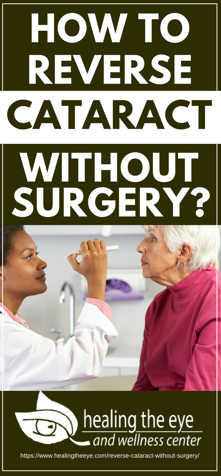 Pinterest Placard | How to Reverse Cataract Without Surgery?