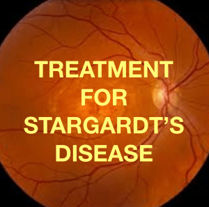 A new publication!  Microcurrent in the treatment of Stargardt's Disease.