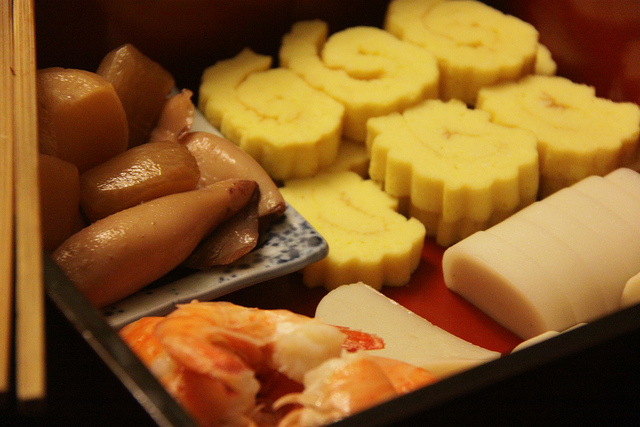 osechi Japanese New Year food