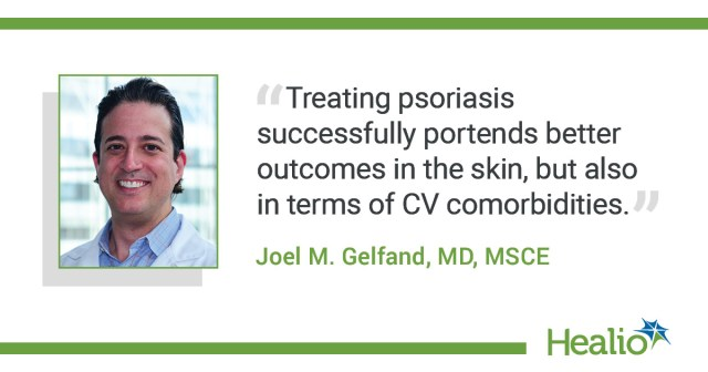 Joel M. Gelfand, MD, MSCE, discusses psoriasis and CVD