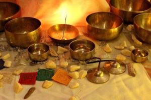 Singing bowls sound healing