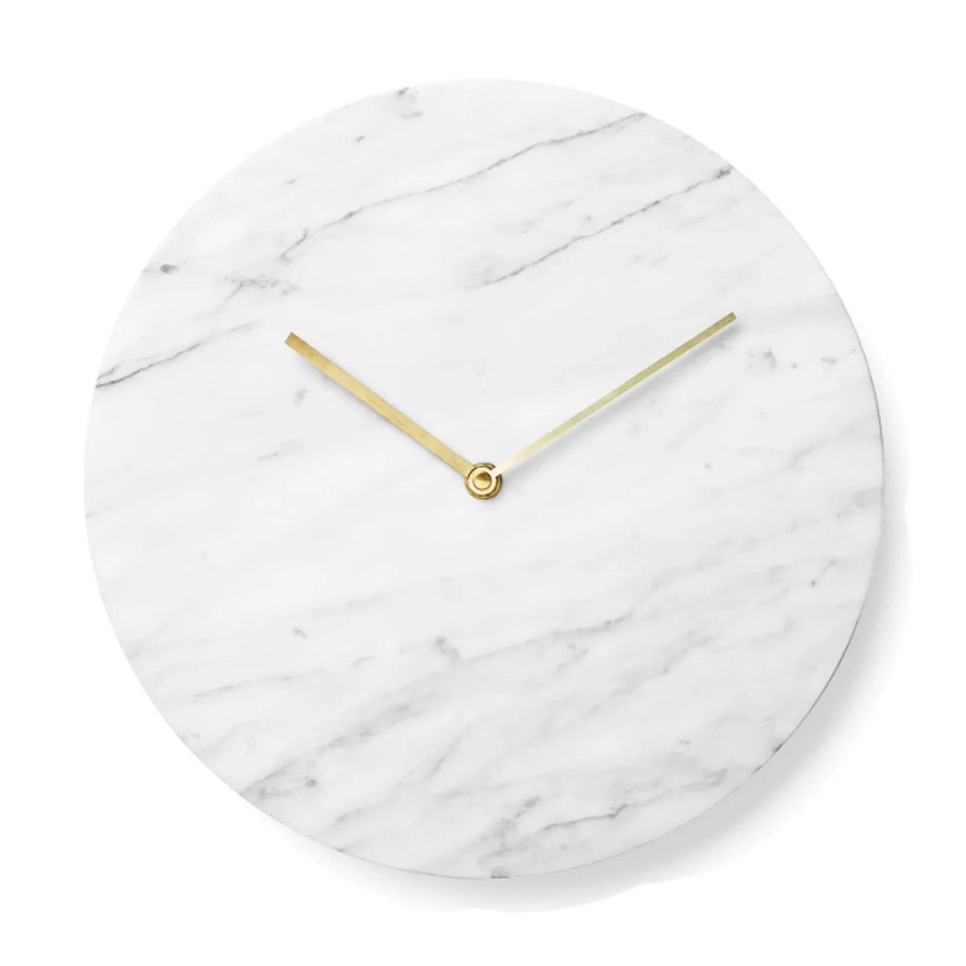 Menu Marble Clock Discontinued HEALS