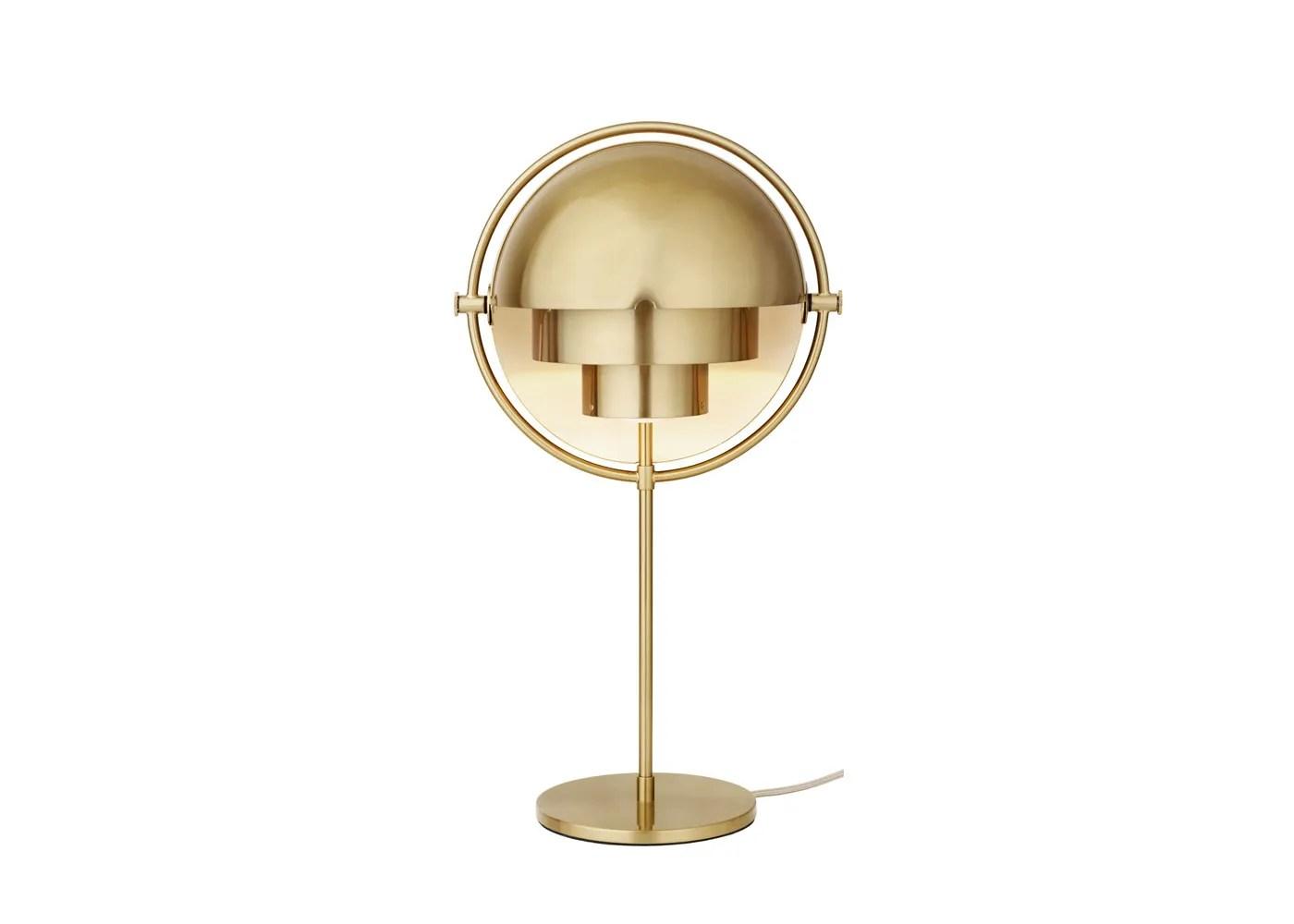 Gubi Multi Lite Table Lamp Brass Base Heal S Uk
